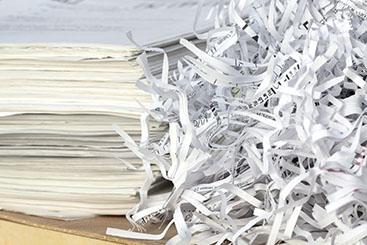 機密書類の廃棄